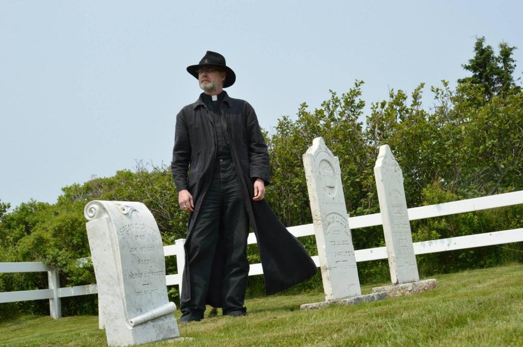 Robert G. Slade as Ezekiel Hartt.